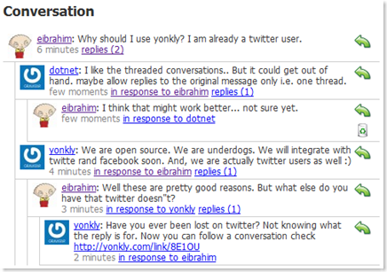 Yonkly – Open Source Twitter